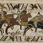 The Bayeux Tapestry - early medieval art reproductions
