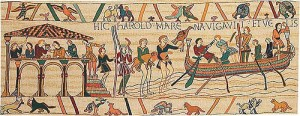 The Bayeux Tapestry - King Harold - Archbishop Stigant