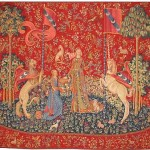 Taste tapestry - The Lady with the Unicorn wall tapestries