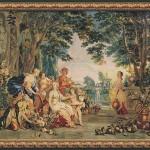The Triumph of Flora - Francois Boucher tapestries