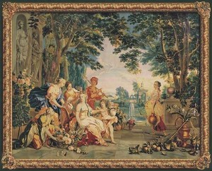 The Triumph of Flora - Francois Boucher tapestries