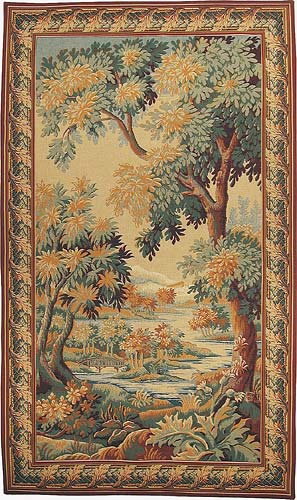 The Forest of Clairmarais tapestry - verdure tapestries from Flanders