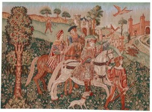 Medieval tapestry sale - Arts & Crafts tapestries offers