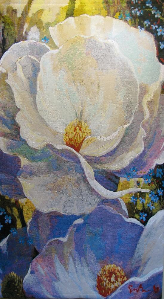 Evening Song tapestry - Simon Bull tapestries