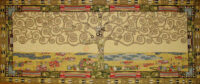 Long Klimt Tree of Life tapestry - Art Nouveau tapestries