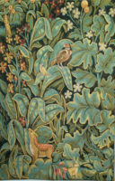 Aristoloches wall tapestry - Belgian verdure tapestries