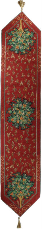 Orange Tree table runner - French table runners