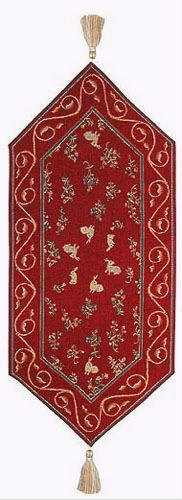 Rabbits table runner - French table runners