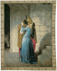 Il Bacio - Kiss tapestry wall-hanging