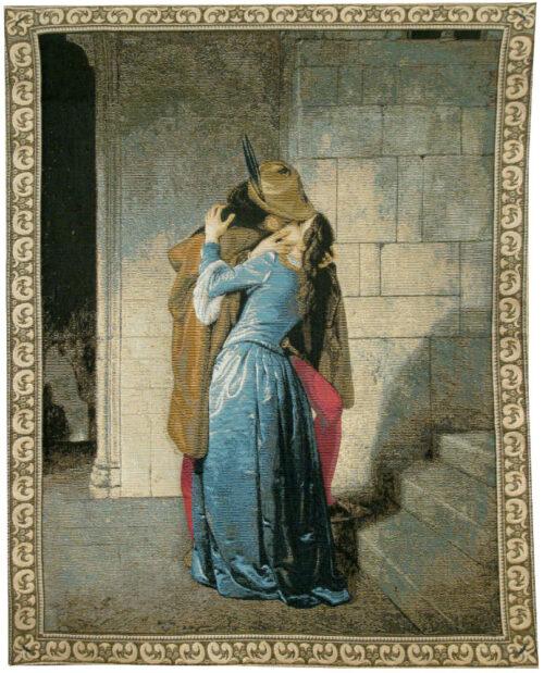 Il Bacio - Kiss tapestry wall-hanging
