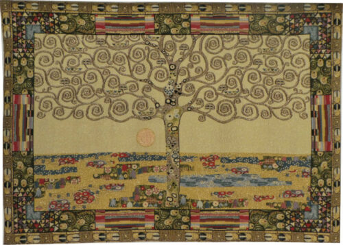 Klimt Tree of Life tapestry - Art Nouveau tapestries