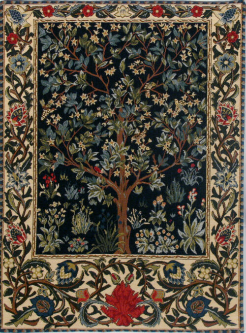 Tree of Life tapestry - William Morris tapestries - Arts and Crafts