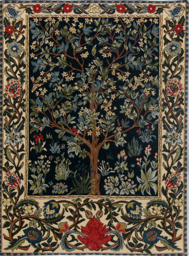 tree of life tapestry william morris tapestries arts