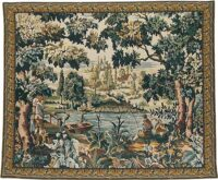 Flemish Village tapestry - Paysage Flamand
