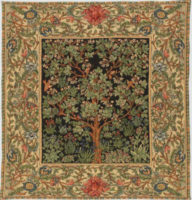 Morris Tree of Life throw - The Tree of Life Tapestry by William Morris