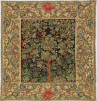 Morris Tree of Life throw - from the tapestry by William Morris