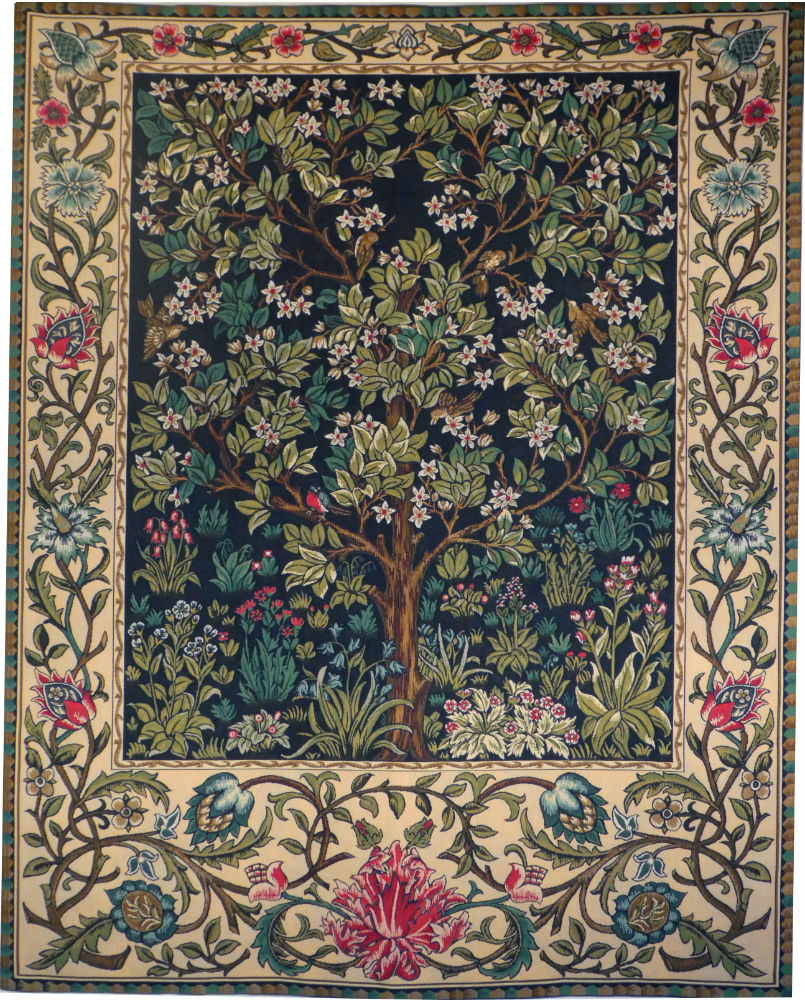 The Tree Of Life Tapestry Wallhanging William Morris