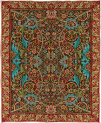 Bullerswood Throw - William Morris carpet design - tablecloth