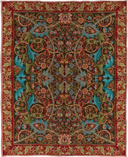 Bullerswood Throw - William Morris carpet design - tablecloth