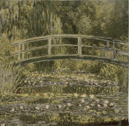 Claude Monet Pont de Giverny tapestry - Pont Japonais