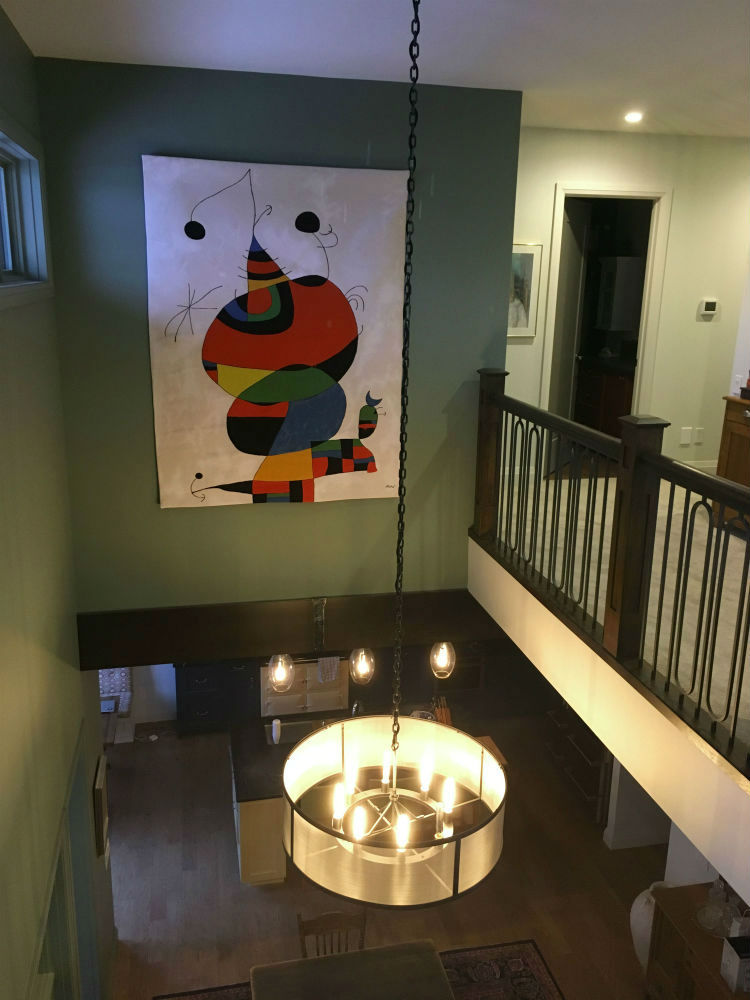 Joan Miro French wall tapestry