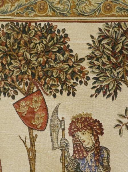 La Manta tapestry detail