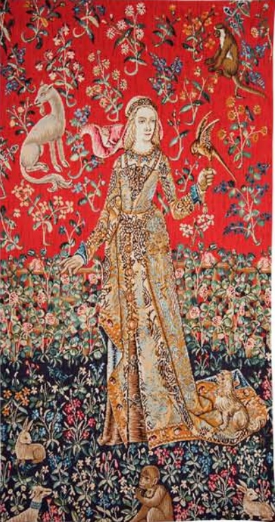 Lady of Cluny tapestry - Lady and the Unicorn tapestries