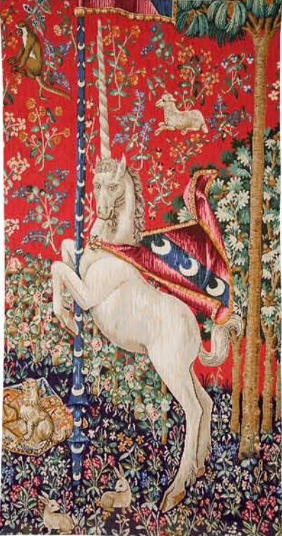 Licorne tapestry - Lady with the Unicorn tapestries
