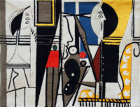 The Painter and his Model 1928 tapestry wallhanging - Pablo Picasso