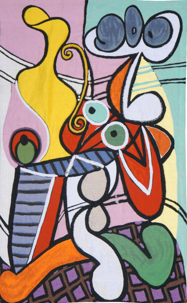 Grande Nature Morte au Gueridon - Picasso tapestries