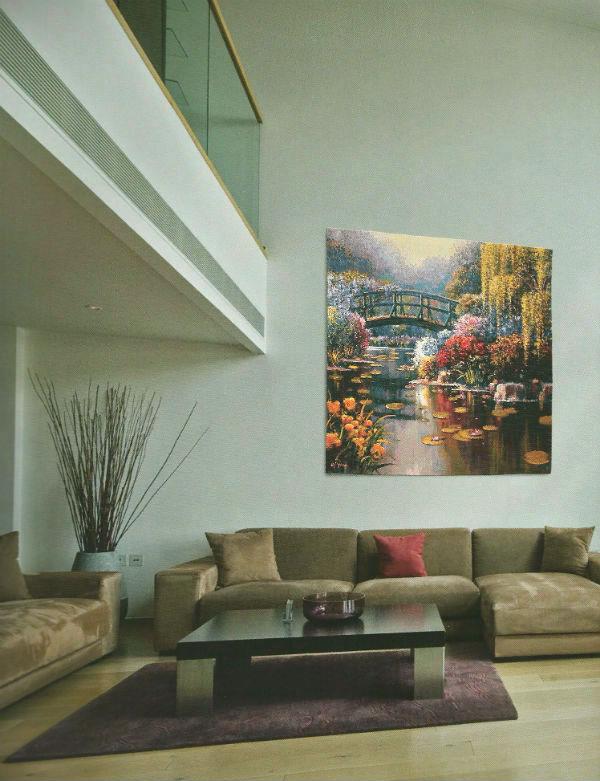 Bob Pejman tapestry wallhangings