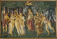La Primavera tapestry - Allegory of Spring - Botticelli tapestries