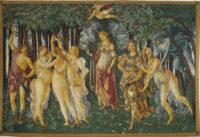 La Primavera tapestry - Allegory of Spring - Botticelli tapestries