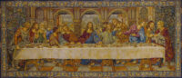 The Last Supper tapestry - Leonardo da Vinci fresco