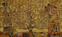 Gustav Klimt Stoclet Frieze tapestry - Italian wall-hanging