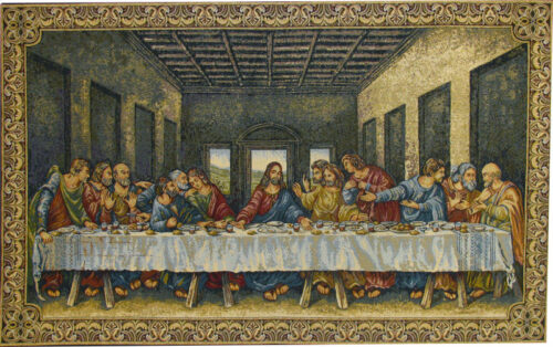 Ultima Cena tapestry wallhanging - Last Supper tapestries