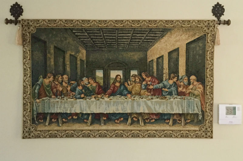 Last Supper tapestries - Leonardo da Vinci