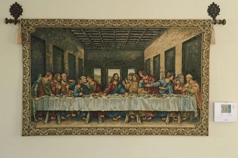 Last Supper tapestries - Leonardo da Vinci