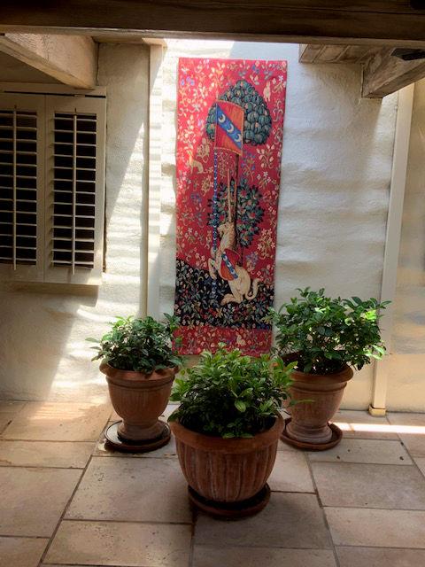Unicorn tapestry - Musée national du Moyen Âge