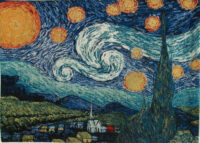 vincent van gogh tapestries art tapestry wall hangings. Black Bedroom Furniture Sets. Home Design Ideas