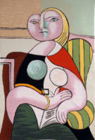 Picasso The Lecture tapestry - Pablo Picasso wall tapestries