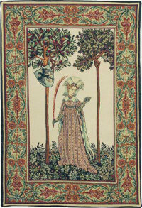 La Manta Lady tapestry - Nine Worthies tapestries