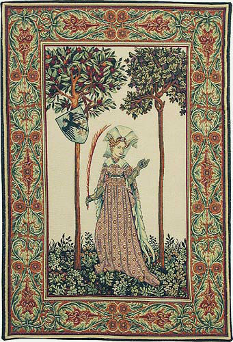 La Manta Lady tapestry - Nine Worthies tapestries