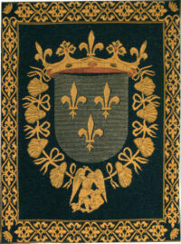 Blois Coat of Arms - a French wall-hanging tapestry