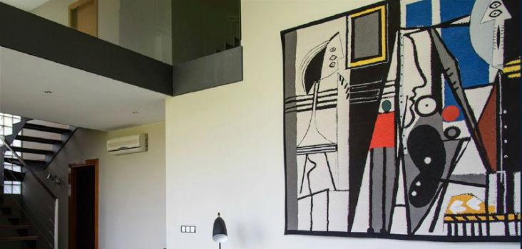 Contemporary fine art tapestries - 20th century wall art