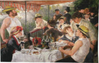 Luncheon of the Boating Party - Renoir tapestry wallhanging