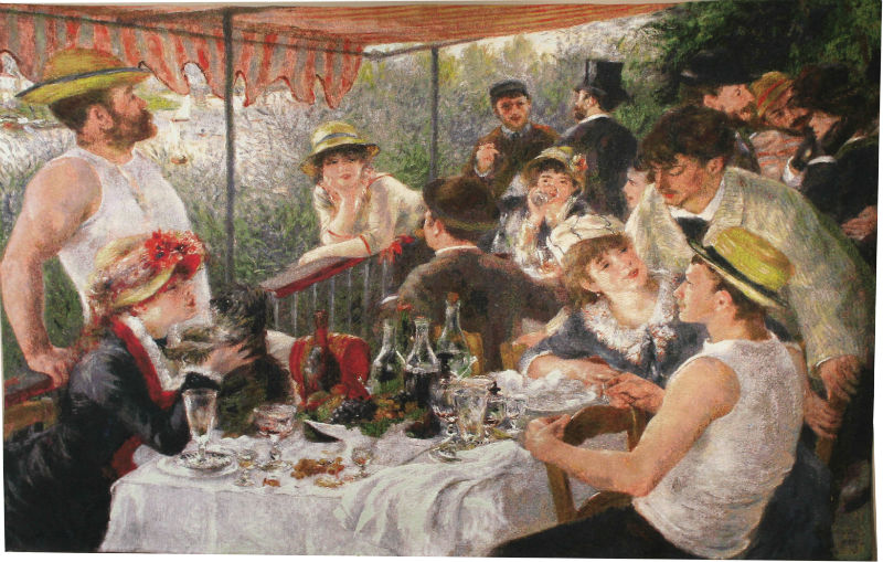 Luncheon Of The Boating Party Impressionist t...