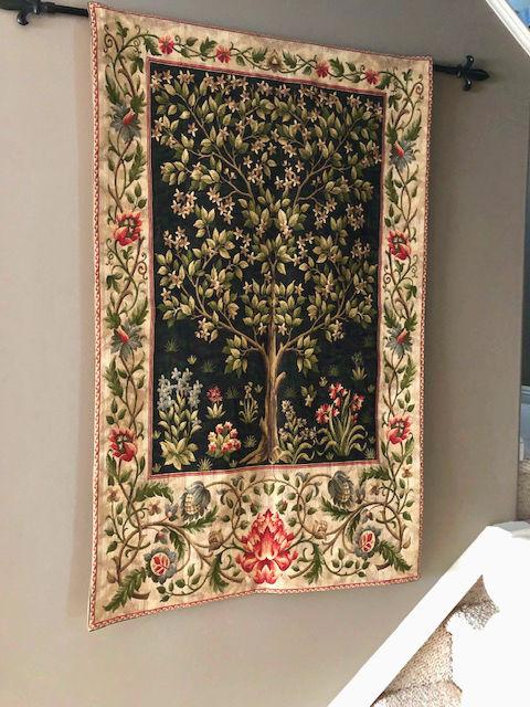 Black Tree of Life tapestry - William Morris tapestries
