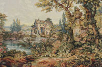 The Old Mill tapestry - Francois Boucher wall tapestries