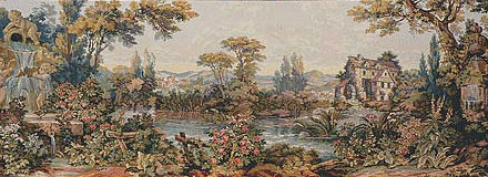 Noble Pastorale tapestry - Francois Boucher tapestries